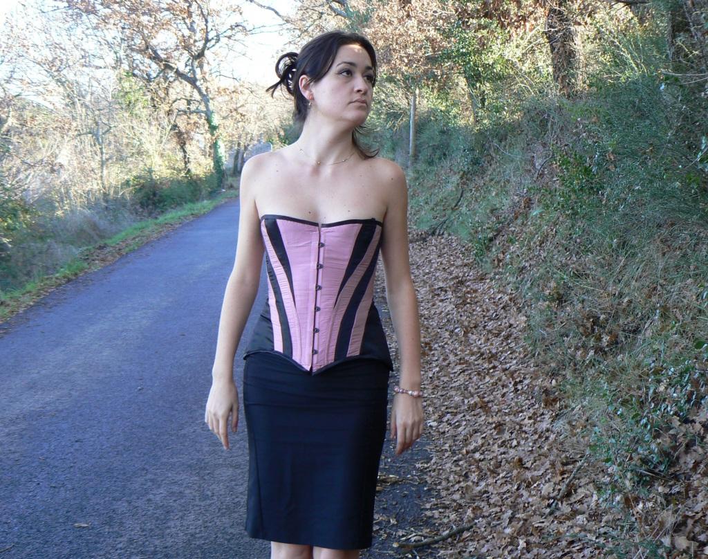 corset belle époque/ Edwardie