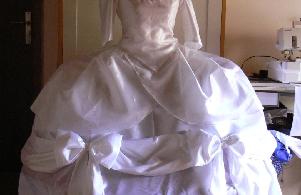 robe de cour marie antoinette en cours